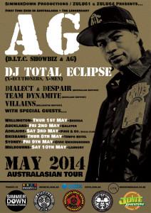 AG (D.I.T.C) Tour 2014