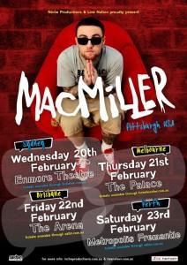 Mac Miller Tour 2013