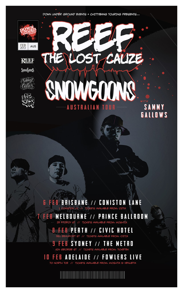 Reef The Lost Cause Snowgoons