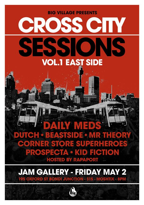 Big Village Presents Cross City Sessions Vol 1 East Side