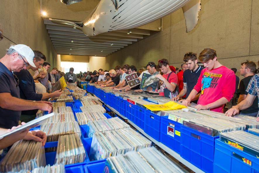 Brisbane Whale Mall Record Fair