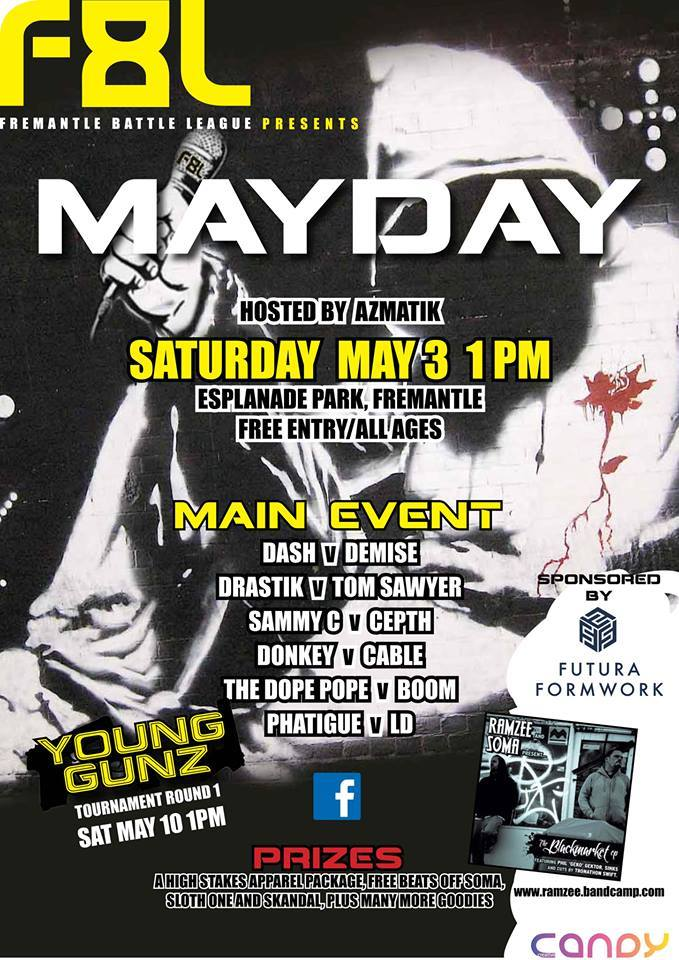 Fremantle Battle League Presents Mayday