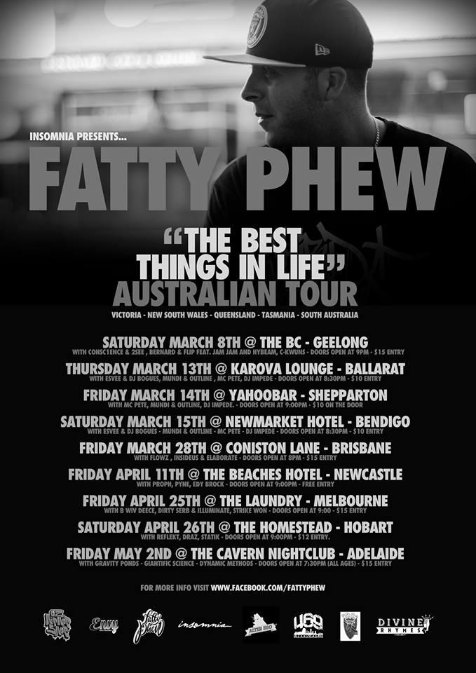 Fatty Phew Tour 2014