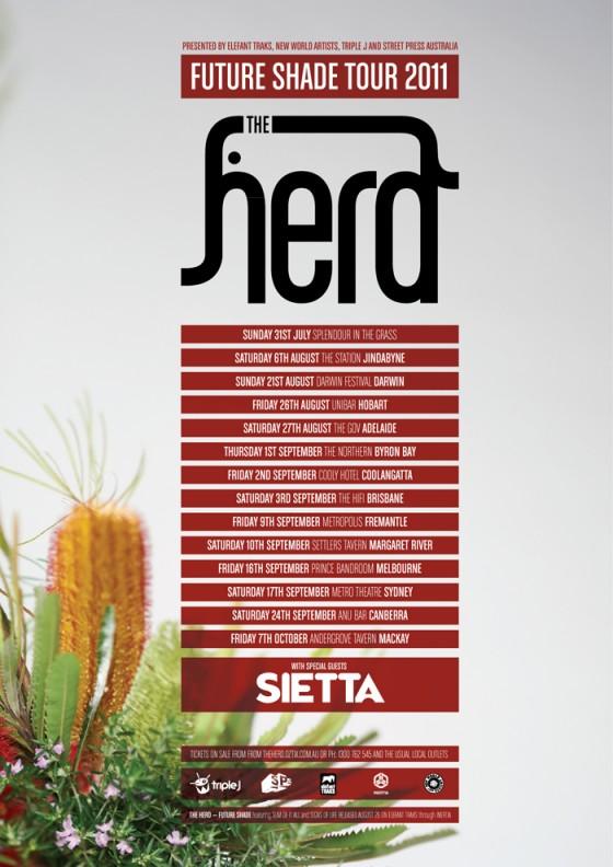 The Herd & Sietta Future Shade Tour 2011