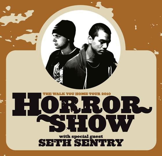Horrorshow Walk You Home Tour 2010