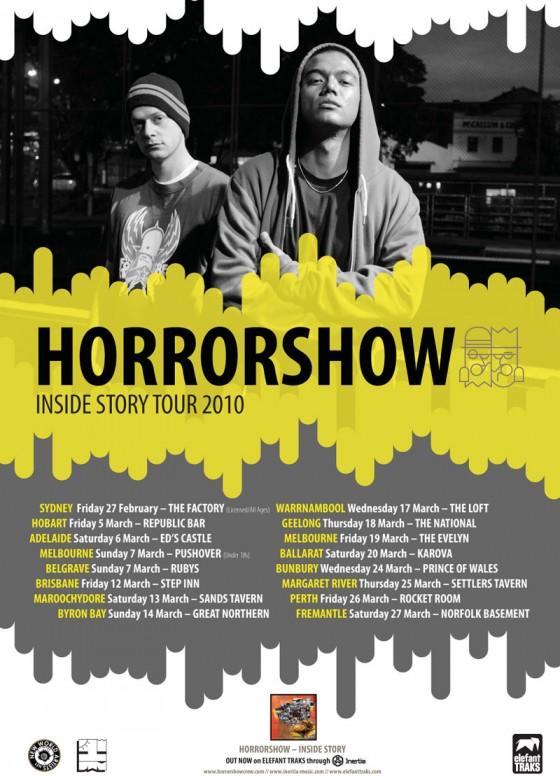 Horroshow Inside Story Tour 2010