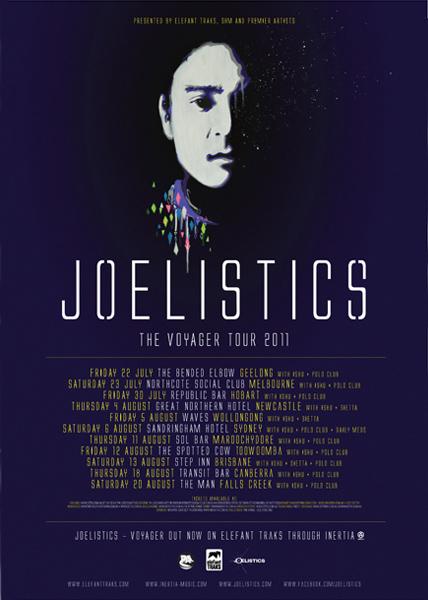 Joelistics Voyager Tour 2011