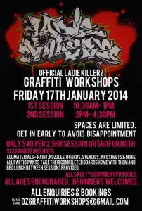 Ladie Killers Workshop Melbourne