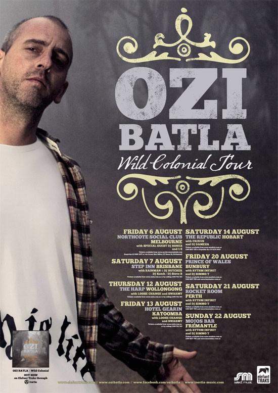Ozi Batla WildColonial Tour 2010