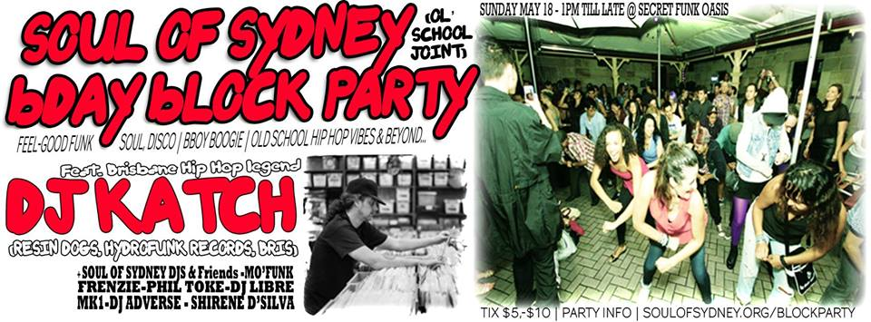 Soul Of Sydney Presents JointBlockParty