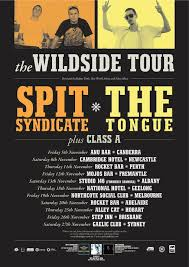 The Tongue & Spit Syndicate Wildside Tour 2010