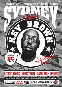kev Brown Beatmaker Showcase