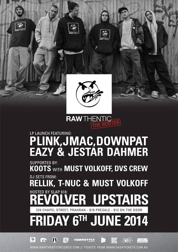 Rawthentic Records - The Roster Album Launch
