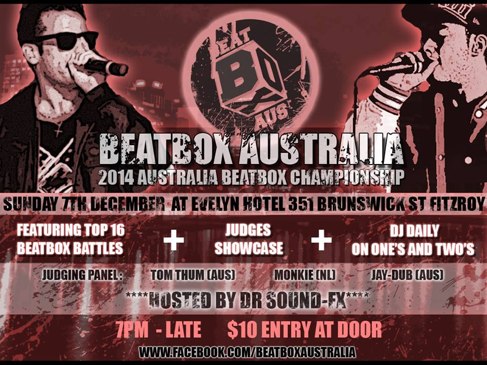 Australian Beatbox Championship 2014, Beatbox Australia