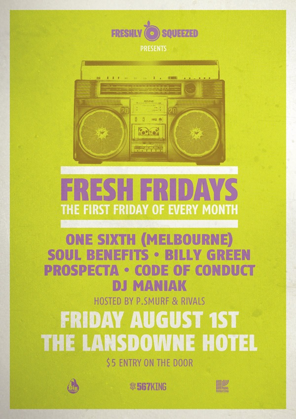 Fresh Fridays Launch Party