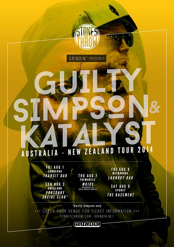 Guilty Simpson & Katalyst Australian Tour