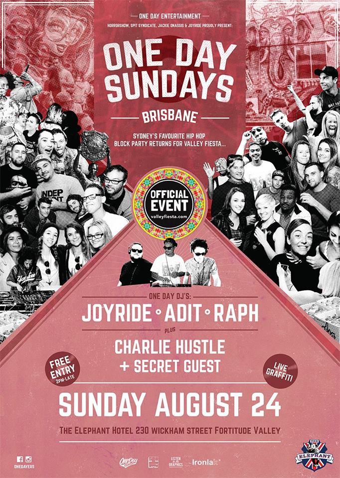 One Day Sundays Brisbane