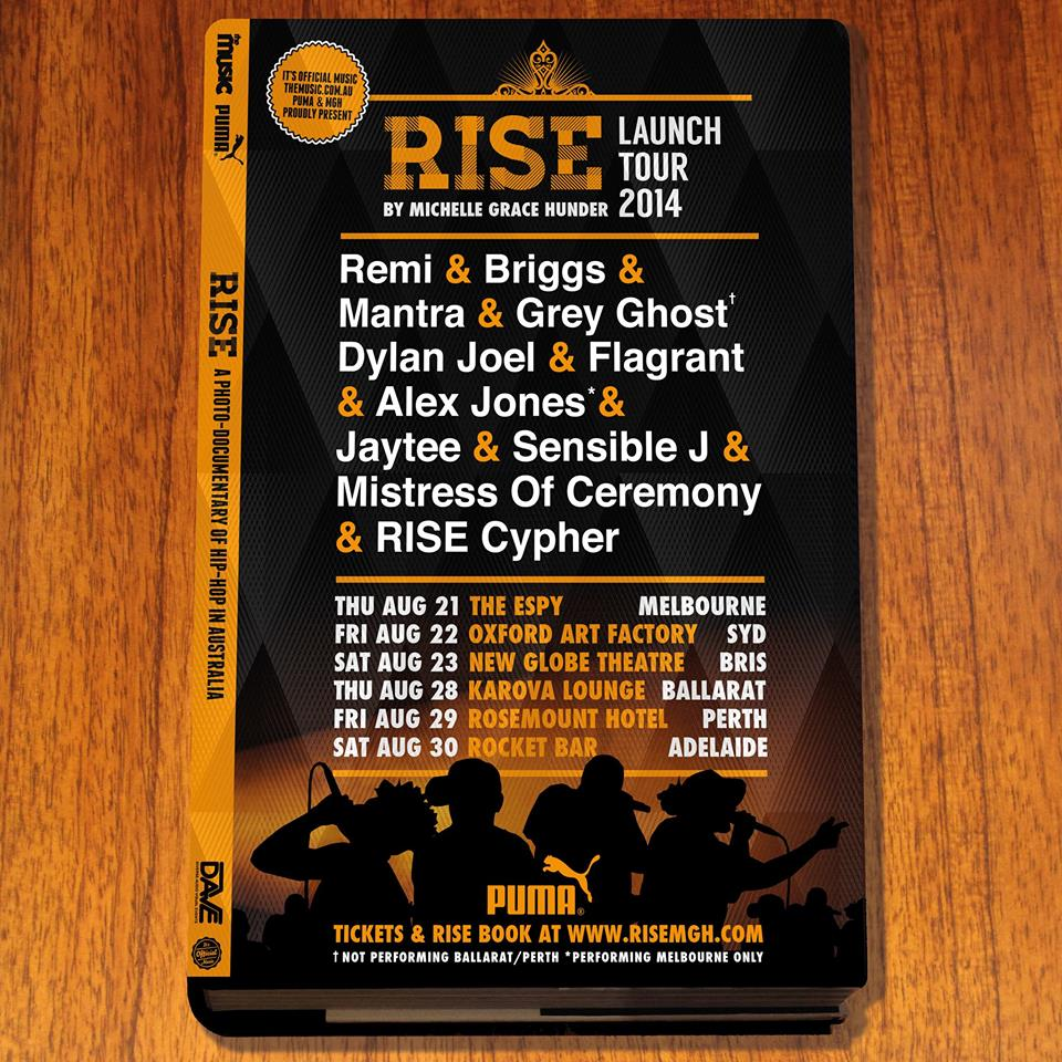 Rise Launch Tour