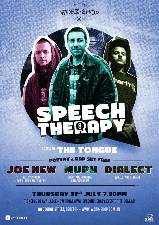 Speech Therapy 8, Speech Therapy 8, Sydney Hip Hop, Australian Hip hop,Ozhiphop