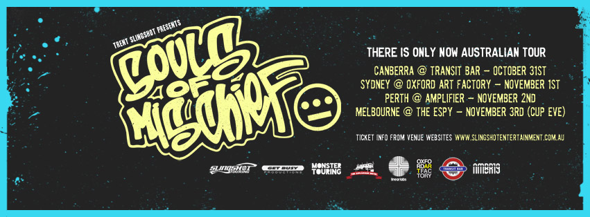 Souls Of Mischief Australian Tour