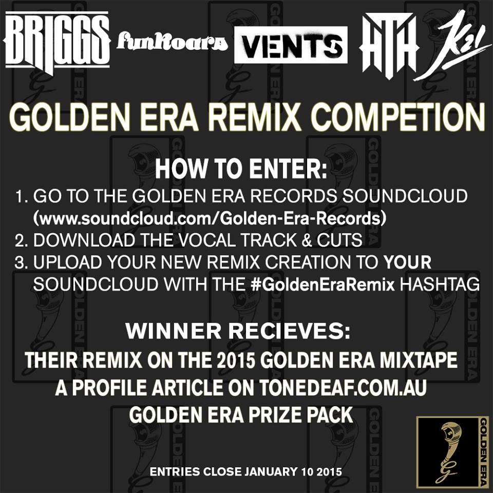 Golden Era Records Remix Competition Flyer