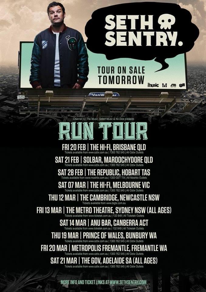 Seth Sentry Run Tour