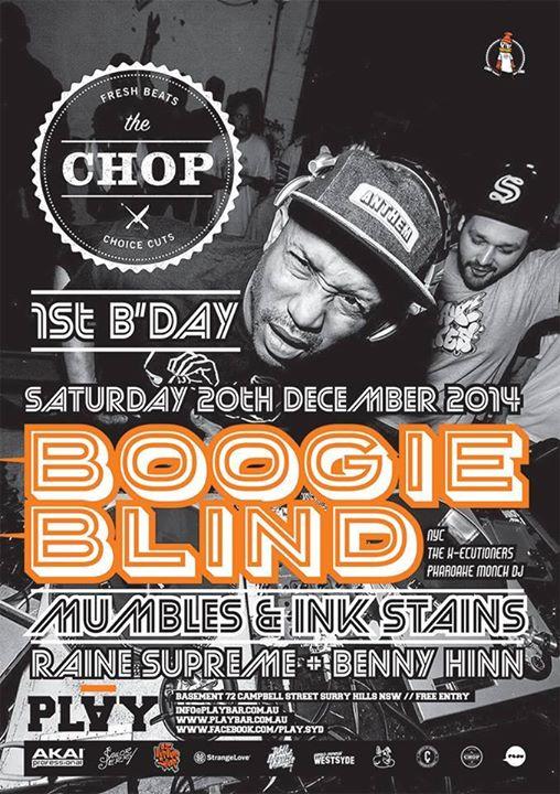 The Chop Ft DJ Boogie Blind