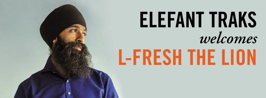 Elefant Traks Welcomes L-Fresh The Lion