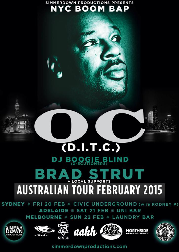 OC DITC Australian Tour