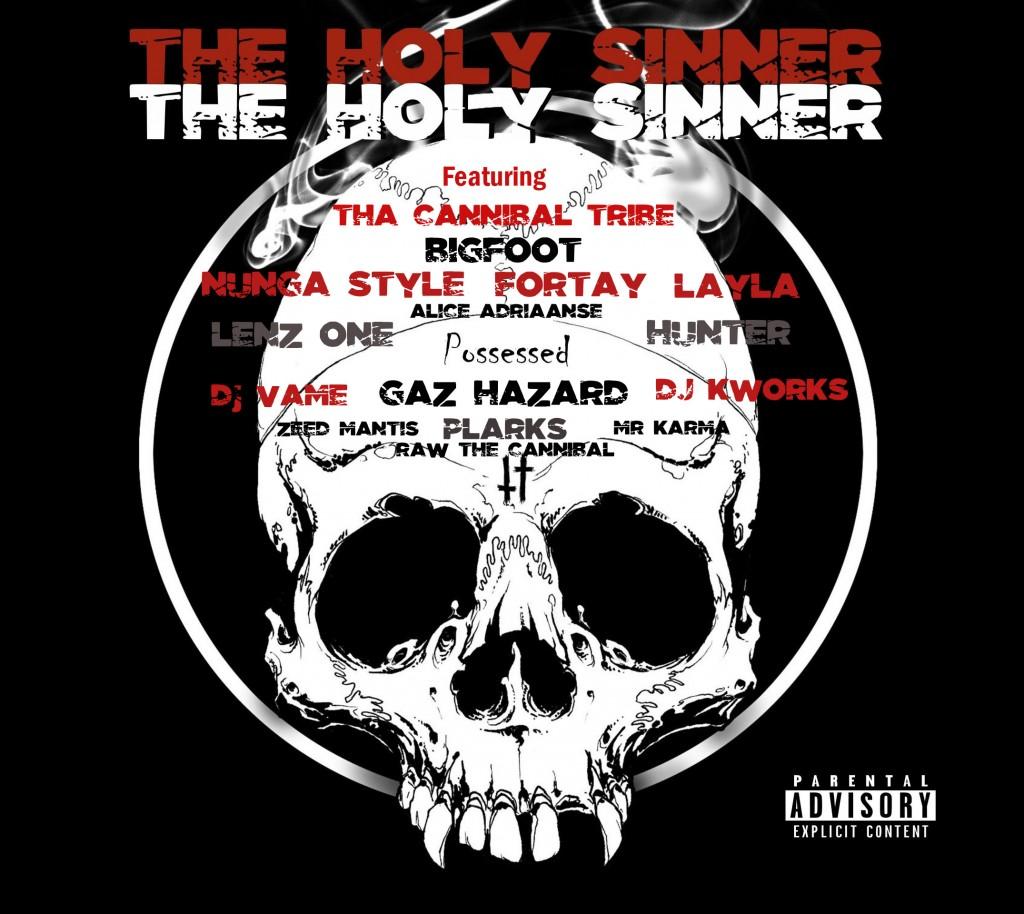The Holy Sinner - Possessed, Australian Hip Hop, Ozhiphop, Ozhiphopshop, Aussie Hip Hop, Hip Hop Shop