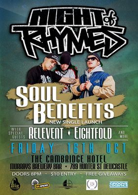 Night Of Rhymes Soul Benefits, Australian Hip Hop Gig, Australian Hip Hop music event, Australian Hip Hop rap gig, Sydney Hip Hop, Ozhiphopshop, Ozhiphop, Aussie Hip Hop