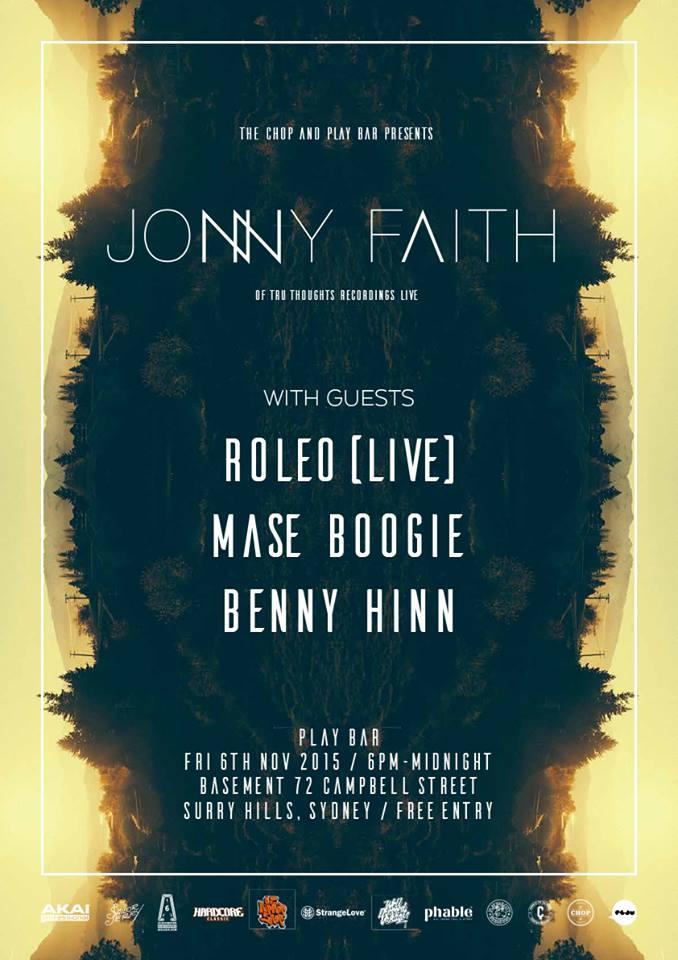 Jonny Faith Sydney Show