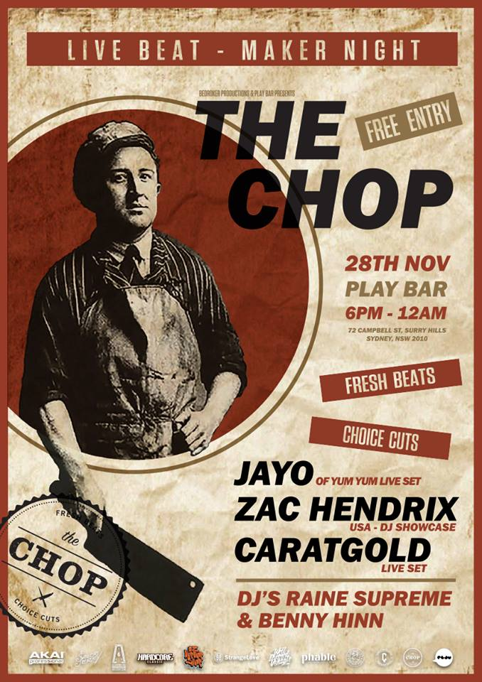 The Chop Live Beatmaker Night, Australian Hip Hop, Hip Hop, Aussie Hip Hop Music