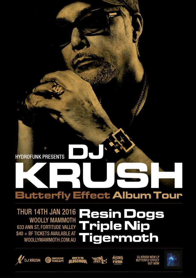 DJ Krush Brisbane Show 2016