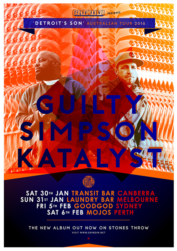 Guilty Simpson and Katalyst Australian Tour