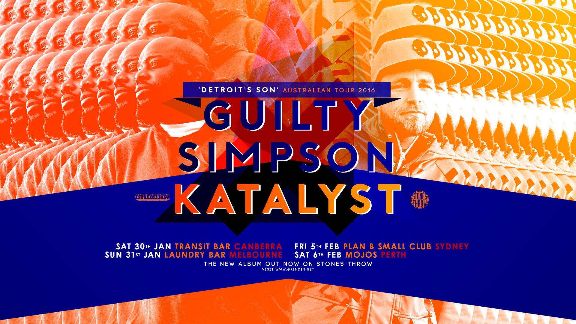 Guilty Simpson Australian Tour, Detroit's Son Interview