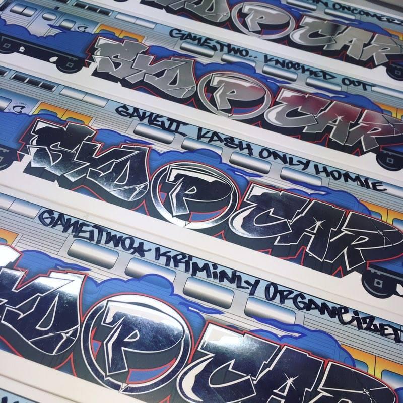 Syd P Car Signed Box Promo