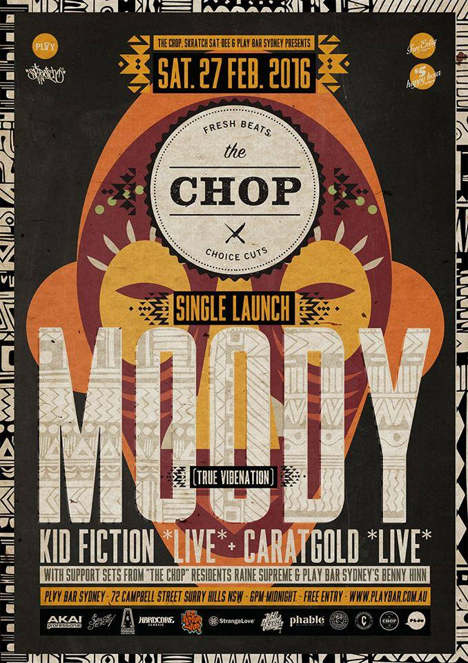 The Chop - Moody Of True Vibenation Single Launch feat Kid Fiction Live, Caratgold Live, Raine Supreme & Benny Hinn