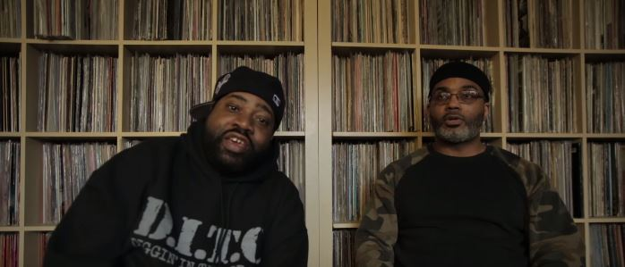 Lord finesse Large Professor Hip Hop Interview Australian Tour