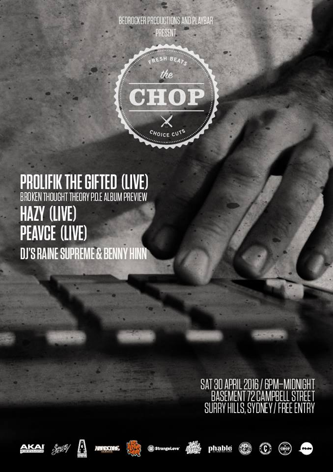 The Chop Live Beatmaker Night April 2016