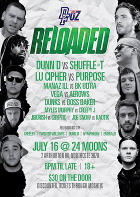 Don't Flop Oz Reloaded Flyer