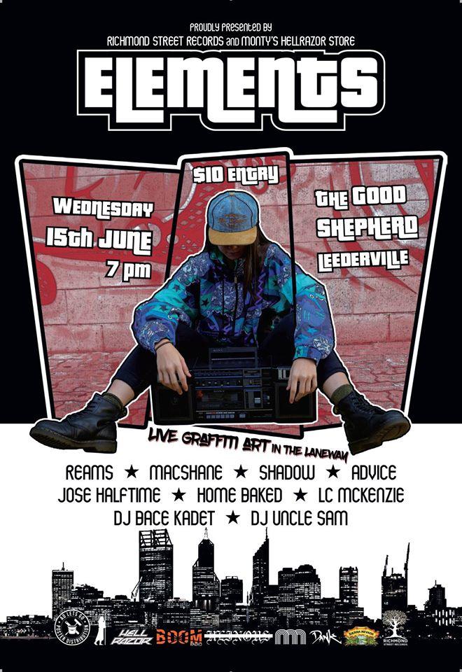 Elements Perth Hip Hop Show