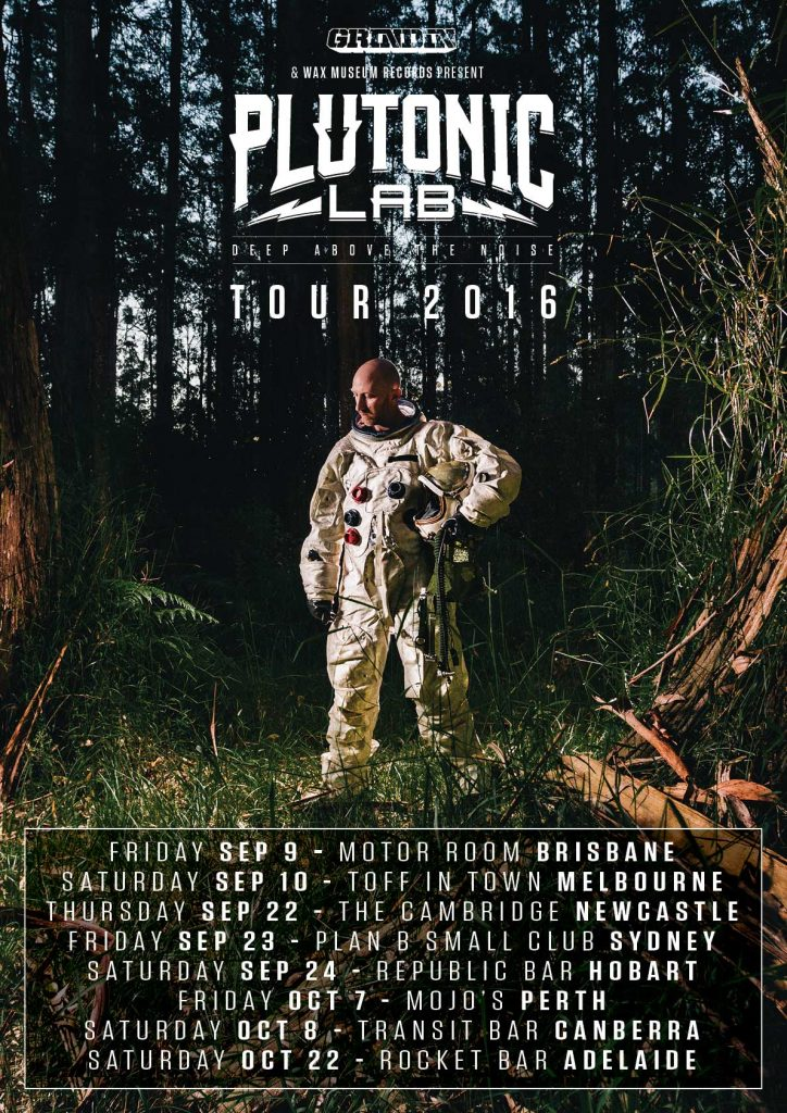 Plutonic Lab AUstralian Tour Dates And Tickets