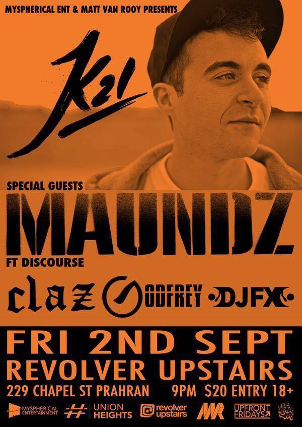 K21 Melbourne Show 2016, Australian Hip Hop Gig