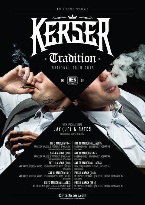 Kerser Tradition Tour 2017