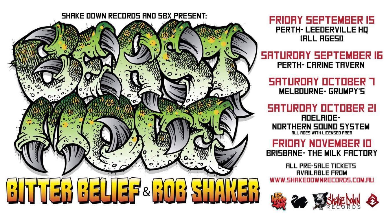 Bitter Belief Beastmode Tour Dates