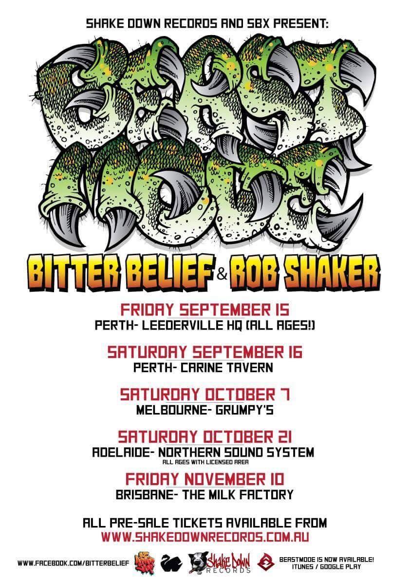 Bitter Belief Beastmode Tour 2017