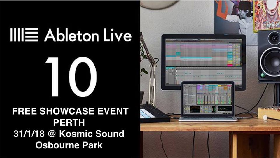 Ableton Live 10 Showcase Perth