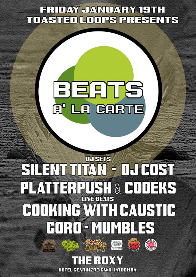 Australian Hip Hop Event Beats A' La Carte January