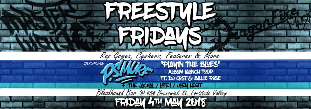 Freestyle Fridays PSmurf Brisbane Album Launch